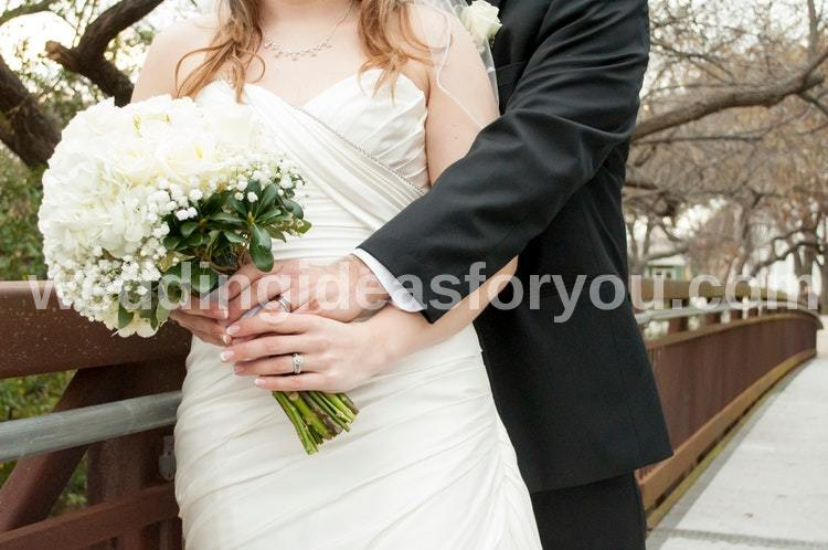 inexpensive wedding ideas for winter