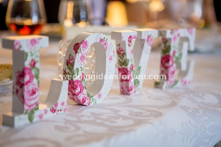 fall wedding reception ideas
