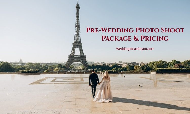 Pre-Wedding Photo Shoot Cost