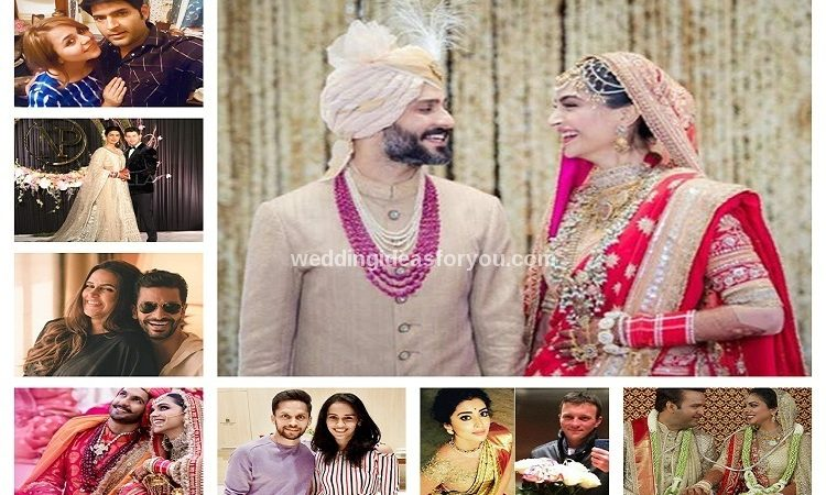 indian celebrity weddings 2018